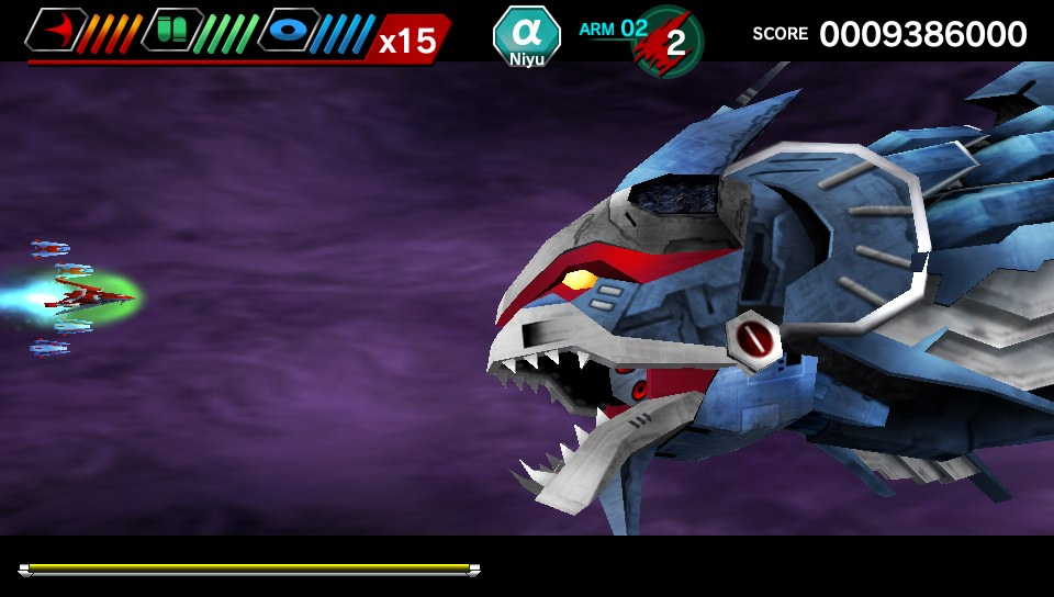 Darius Burst Chronicle Saviours PS Vita 1