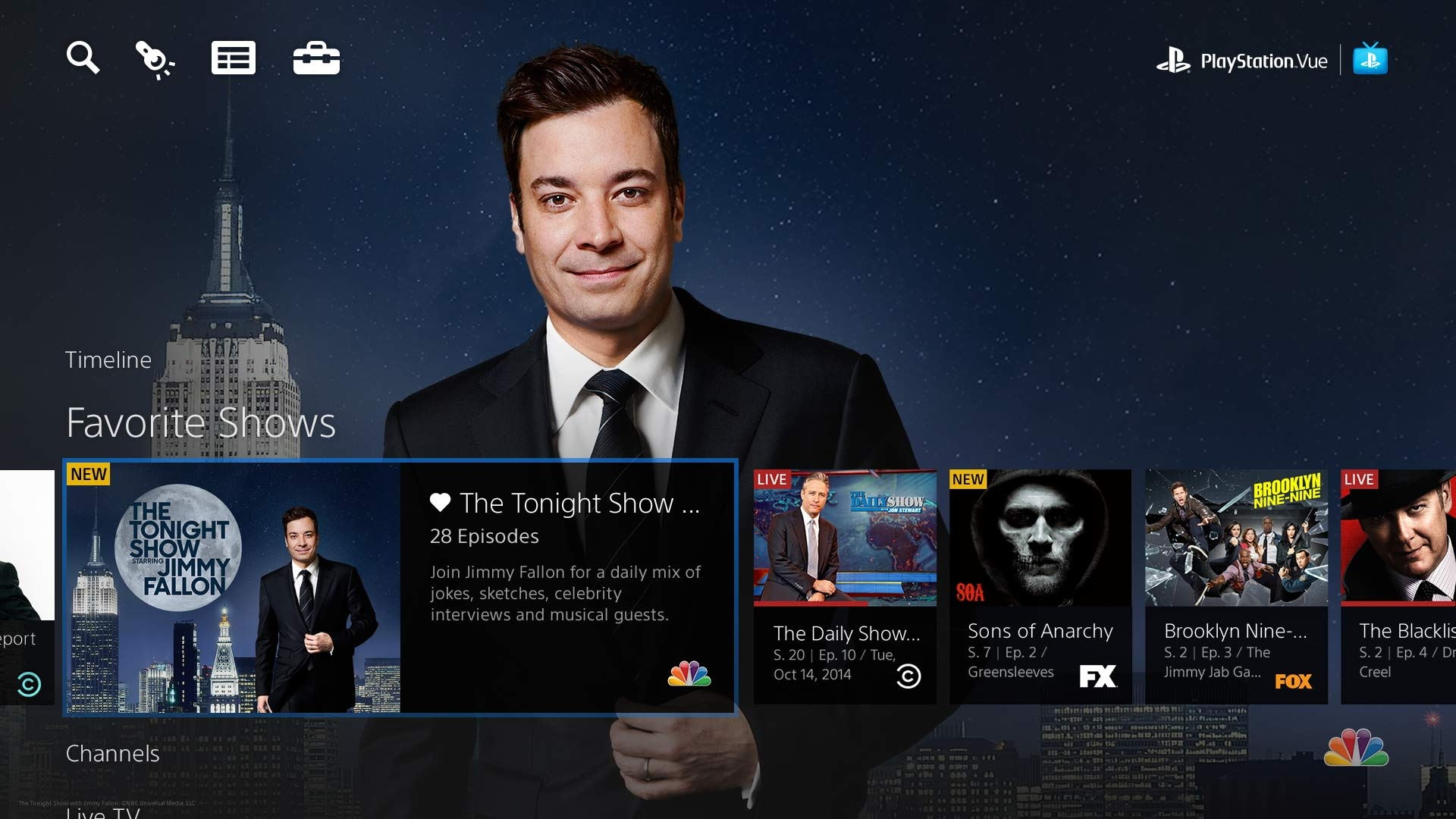 Playstation Vue Screenshot