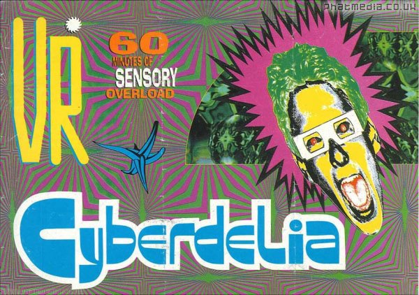 VR Cyberdelia Flyer (Front)