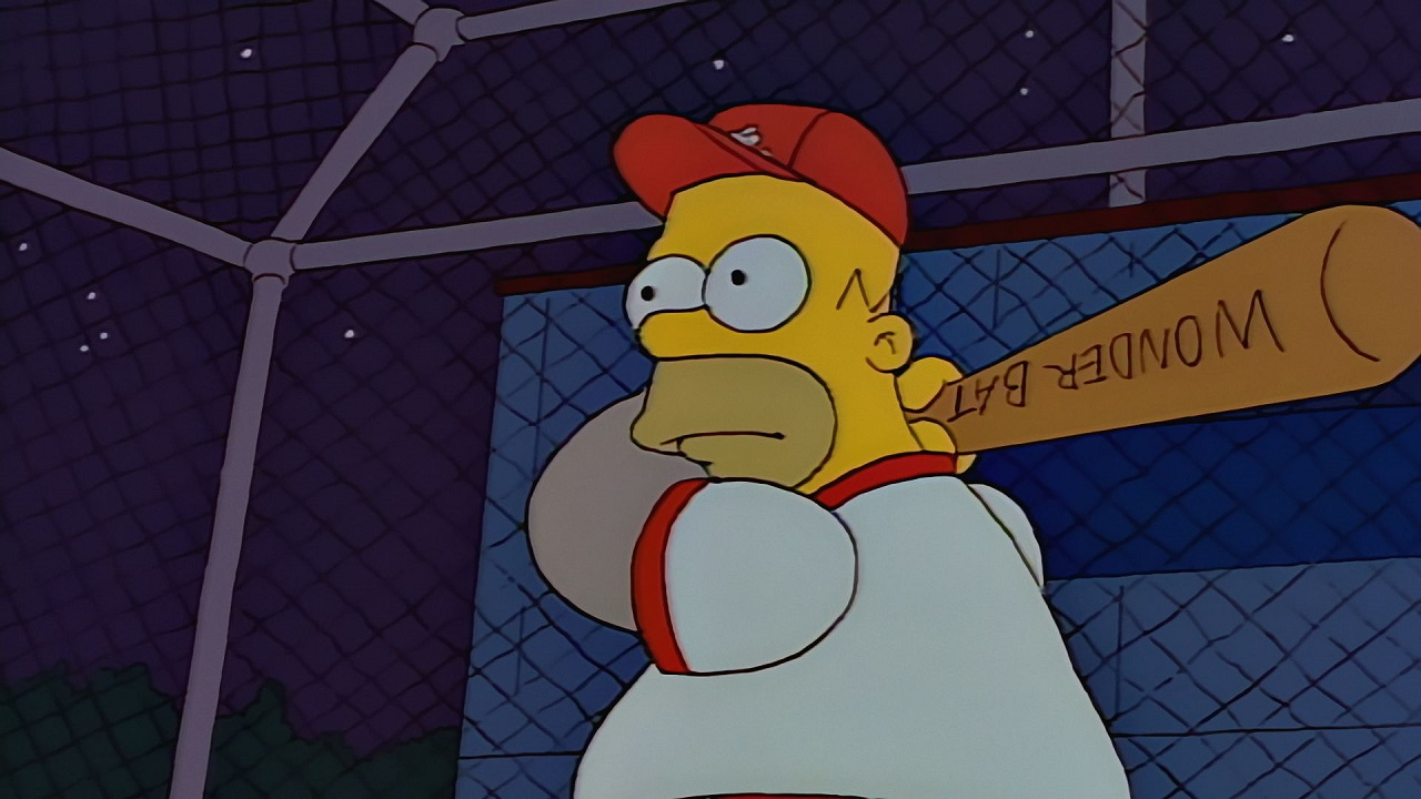 The Simpsons - Homer At The Bat