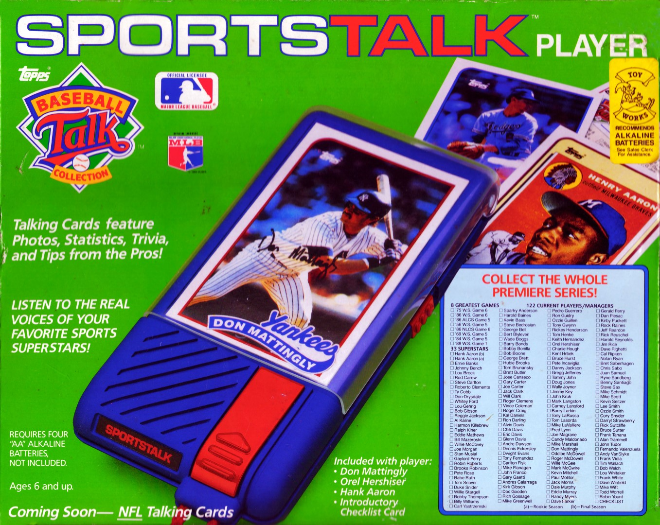 Topps MLB Sports Talk Player Box
