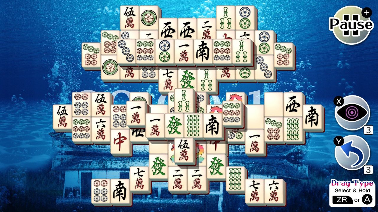 Nintendo Switch Mahjong Solitaire Refresh 01