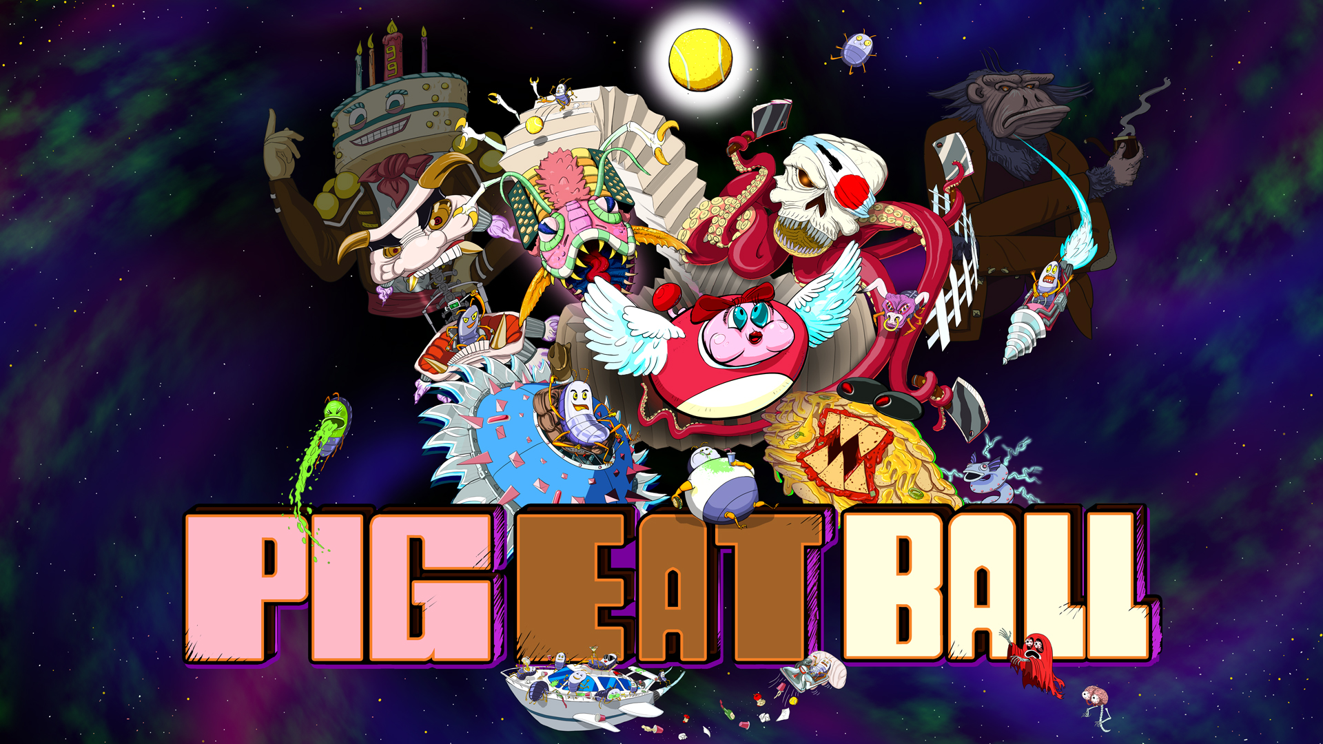 Pig Eat Ball Nintendo Switch